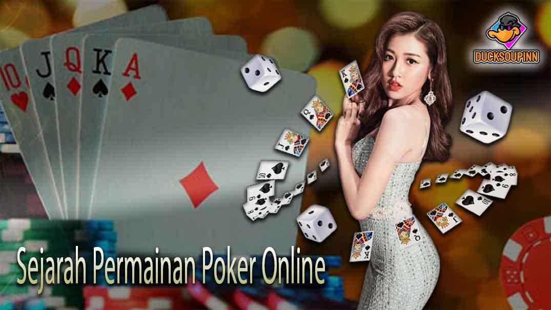 Sejarah Permainan Poker Online